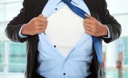 Homem de negócios super Foto de Stock Royalty Free