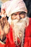 Homem de ondulação em Bengal ocidental Imagem de Stock Royalty Free