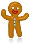 Homem de pão-de-espécie Imagem de Stock
