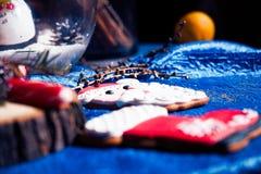 Homem de pão-de-espécie de Santa Claus Fotografia de Stock Royalty Free