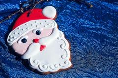 Homem de pão-de-espécie de Santa Claus Fotografia de Stock