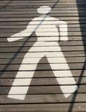 Homem de passeio Foto de Stock