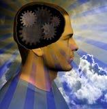 Homem de pensamento Imagem de Stock