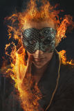 Homem de Phoenix Foto de Stock Royalty Free