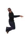 Homem de salto Fotos de Stock
