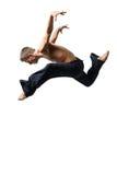 Homem de salto imagens de stock royalty free