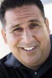 Homem de sorriso fotografia de stock royalty free