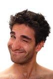 Homem de sorriso fotos de stock
