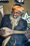 Homem de sorriso em Bengal ocidental Imagem de Stock Royalty Free