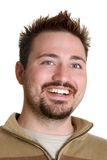 Homem de sorriso feliz Imagens de Stock Royalty Free
