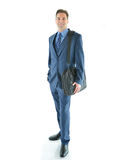 Homem de viagem do negócio ou das vendas Imagens de Stock