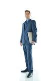 Homem de viagem do negócio ou das vendas Fotos de Stock