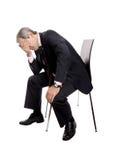 Homem deprimido Fotos de Stock