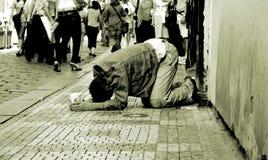 Homem desabrigado Imagem de Stock