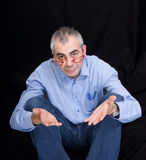 Homem desempregado Imagem de Stock Royalty Free