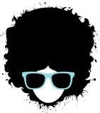 Homem do Afro ilustração royalty free