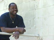 Homem do americano africano Fotos de Stock