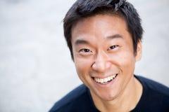 Homem do Asian de Interestng imagem de stock