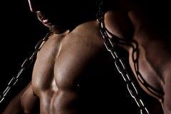 Homem do Bodybuilding Foto de Stock Royalty Free