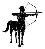 Homem do cavalo de Centuar ilustração stock
