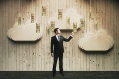 Homem do conceito da riqueza Imagem de Stock