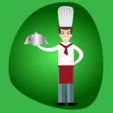 Homem do cozinheiro do cozinheiro chefe Imagens de Stock