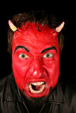Homem do diabo Fotos de Stock Royalty Free