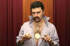 Homem do disco Imagem de Stock