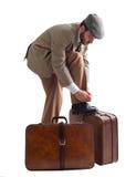 Emigrante Imagem de Stock Royalty Free