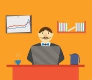 Homem do escritório Fotografia de Stock