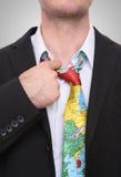 Homem do esforço do curso de negócio Foto de Stock Royalty Free