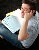 Homem do estudante Imagens de Stock