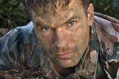 Homem do exército Fotografia de Stock Royalty Free