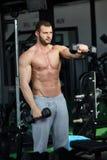 Homem do Gym Foto de Stock Royalty Free