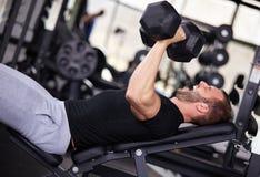 Homem do Gym Fotos de Stock