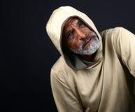 Homem do indiano de Concerened fotografia de stock royalty free