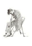 Homem do jazz Foto de Stock Royalty Free