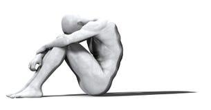 Homem do mármore - 01 Imagem de Stock