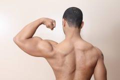 Homem do músculo Fotografia de Stock