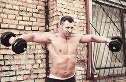 Homem do músculo Imagem de Stock Royalty Free
