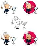 Homem do maestro ilustração do vetor
