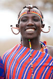 Homem do Masai fotografia de stock