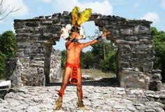 Homem do Maya imagem de stock royalty free
