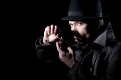 Homem do mistério Fotografia de Stock Royalty Free
