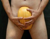 Homem do Nude Fotografia de Stock