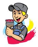 Homem do pintor Imagem de Stock