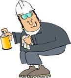 Homem do pulverizador Imagem de Stock