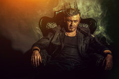 Homem do rei Foto de Stock Royalty Free