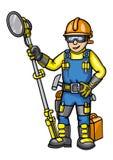 Homem do reparador ilustração royalty free
