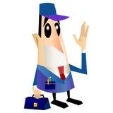 Homem do serviço técnico Imagem de Stock Royalty Free
